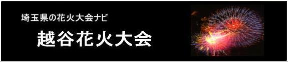 越谷花火大会 埼玉県越谷市