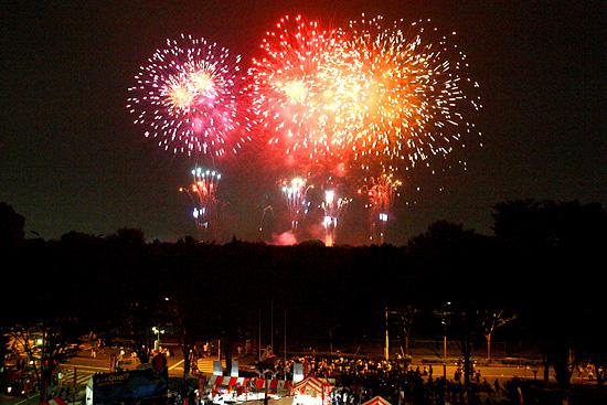 朝霞市民まつり「彩夏祭」