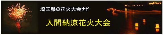 入間納涼花火大会(埼玉県入間市)
