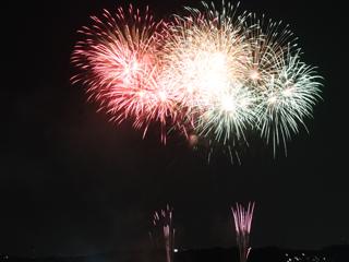 「さいたま市花火大会」東浦和 大間木公園会場