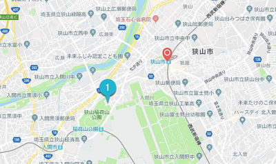 狭山市駅周辺の予約のできる駐車場
